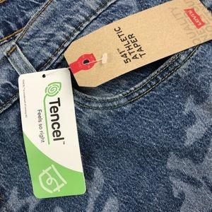 Levi's Jeans - Levis 541 Athletic Fit Taper Camo Blue Jeans 40x32